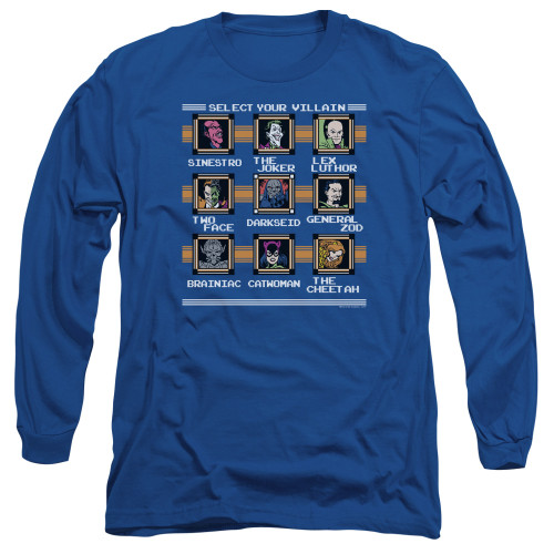 Image for Justice League of America Long Sleeve T-Shirt - Stage Select