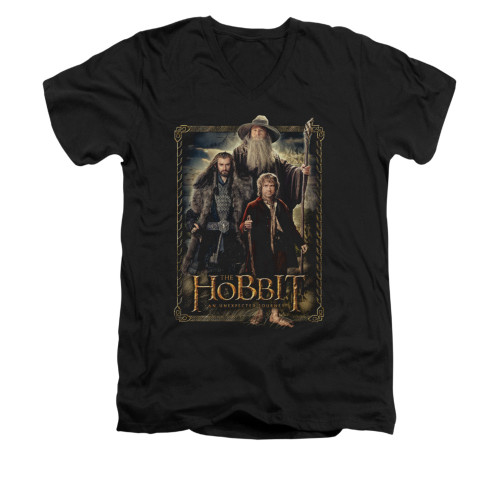Image for The Hobbit V-Neck T-Shirt - The Three