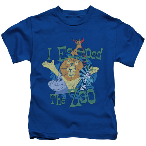 Image for Madagascar Kids T-Shirt - Escaped