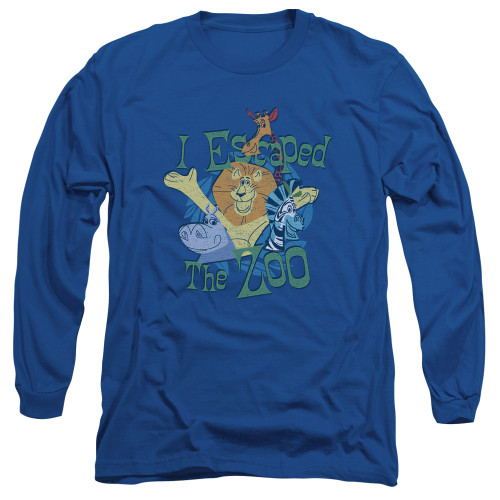 Image for Madagascar Long Sleeve T-Shirt - Escaped