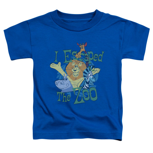 Image for Madagascar Toddler T-Shirt - Escaped