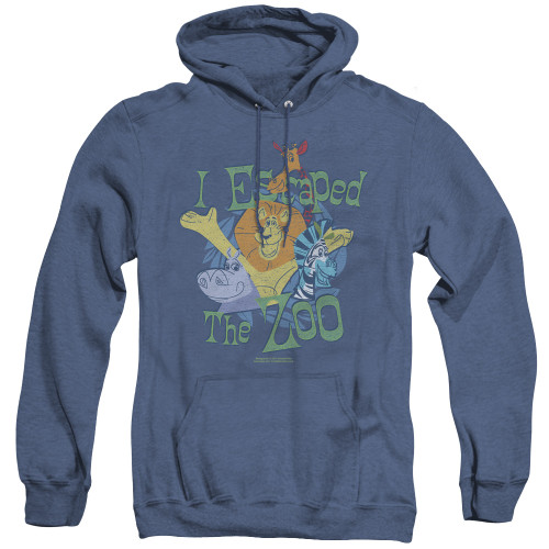 Image for Madagascar Heather Hoodie - Escaped