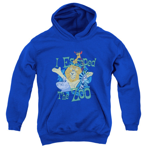 Image for Madagascar Youth Hoodie - Escaped