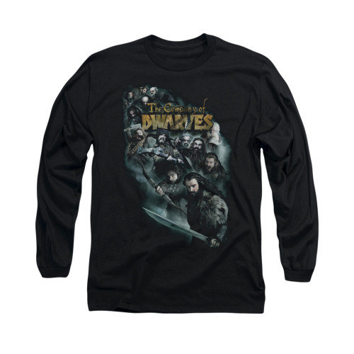 Image for The Hobbit Long Sleeve T-Shirt - Company of Dwarves