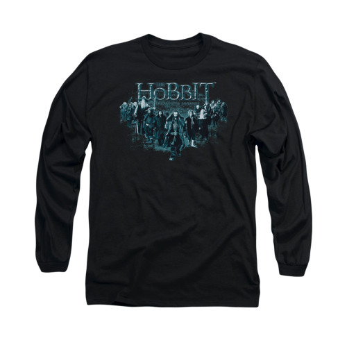 Image for The Hobbit Long Sleeve T-Shirt - Thorin and Company