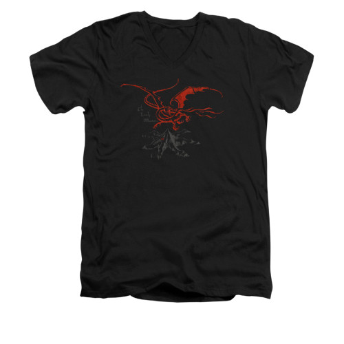 Image for The Hobbit V-Neck T-Shirt - Smaug