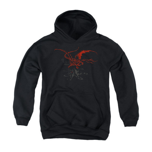 Image for The Hobbit Youth Hoodie - Smaug