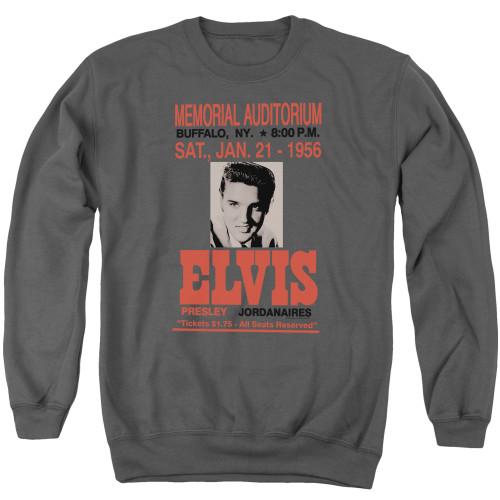Image for Elvis Presley Crewneck - Buffalo 1956