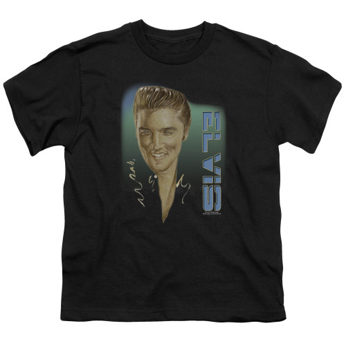 Image for Elvis Presley Youth T-Shirt - Elvis 56