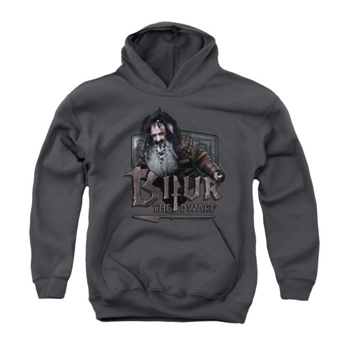 Image for The Hobbit Youth Hoodie - Bilbo Stare