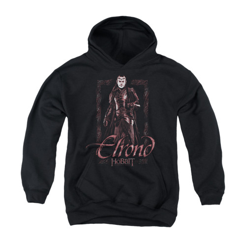 Image for The Hobbit Youth Hoodie - Elrond Stare