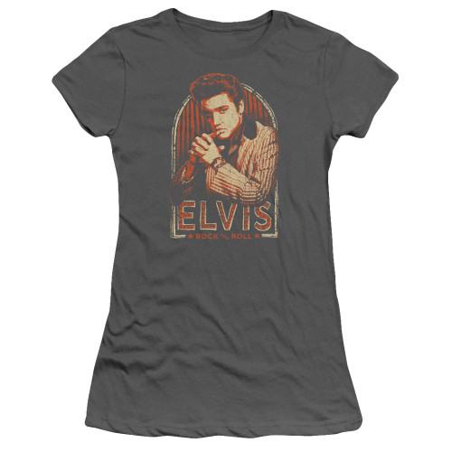 Image for Elvis Presley Girls T-Shirt - Stripes