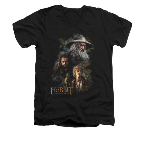 Image for The Hobbit V-Neck T-Shirt - Painting