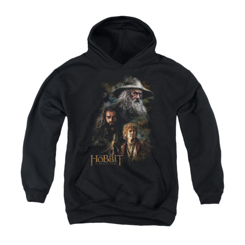 Image for The Hobbit Youth Hoodie - Painting