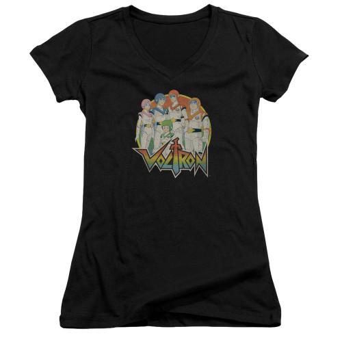 Image for Voltron Girls V Neck T-Shirt - Group