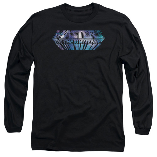 Image for Masters of the Universe Long Sleeve T-Shirt - Space Logo