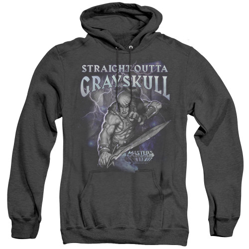 Image for Masters of the Universe Heather Hoodie - Straight Outta Grayskull