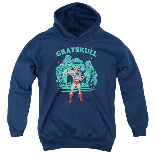 Image for Masters of the Universe Youth Hoodie - Grayskull Nights