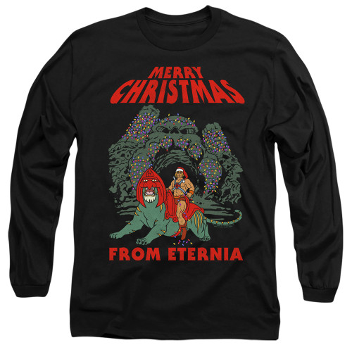 Image for Masters of the Universe Long Sleeve T-Shirt - Eternia Christmas
