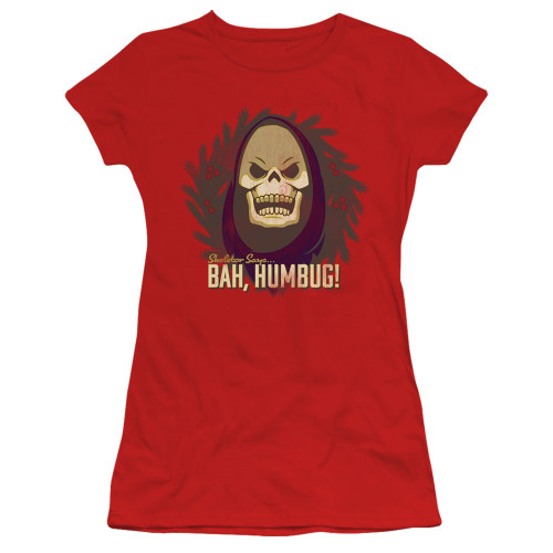 Image for Masters of the Universe Girls T-Shirt - Bah Humbug