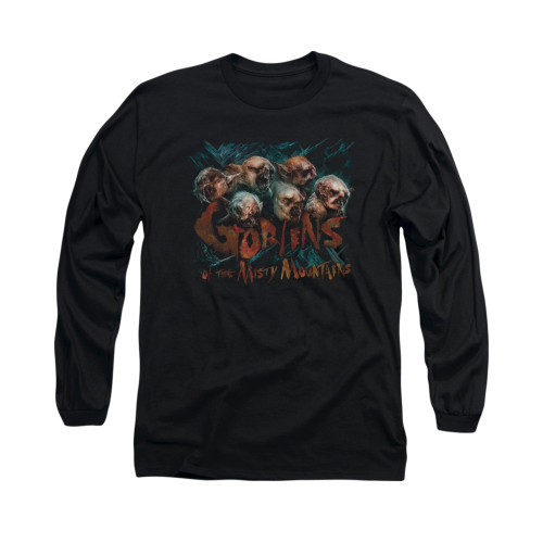 Image for The Hobbit Long Sleeve T-Shirt - Misty Goblins