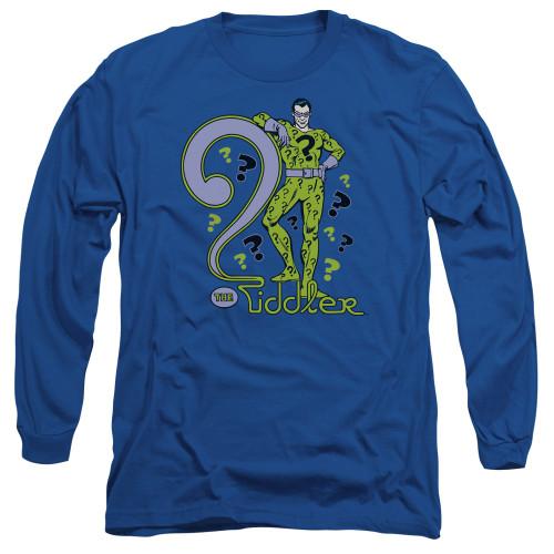 Image for Riddler Long Sleeve T-Shirt - The Riddler
