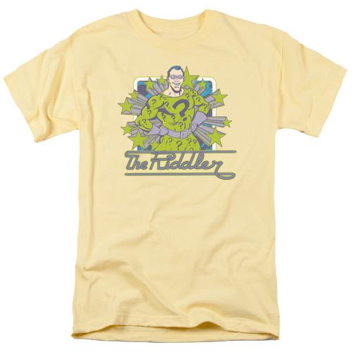 Image for Riddler T-Shirt - Riddler Stars