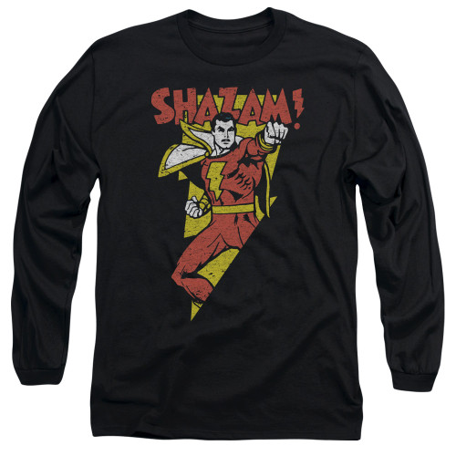 Image for Shazam Long Sleeve T-Shirt - In Bolt