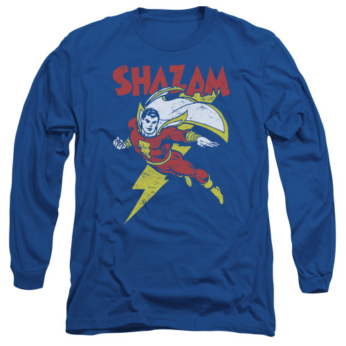 Image for Shazam Long Sleeve T-Shirt - Lets Fly