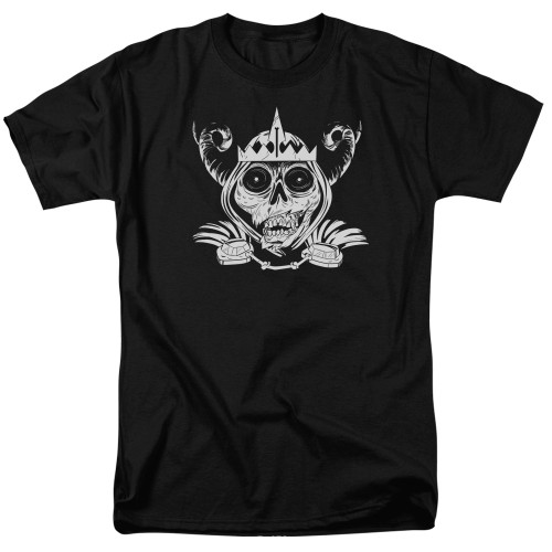 Image for Adventure Time T-Shirt - Skull Face