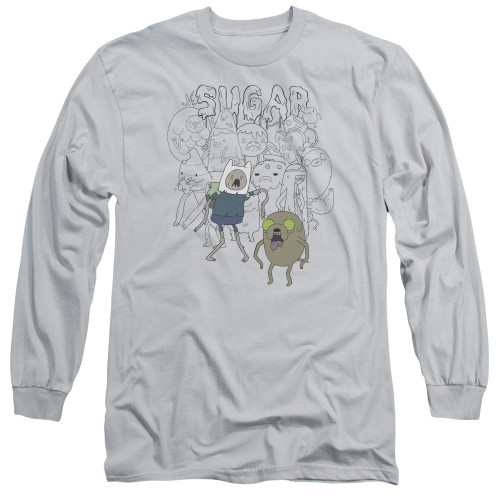 Image for Adventure Time Long Sleeve T-Shirt - Sugar Zombies