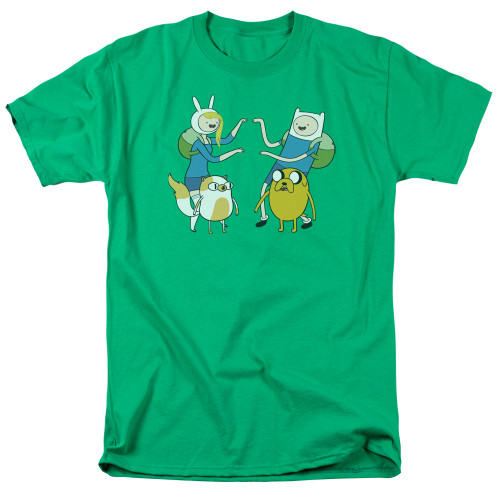 Image for Adventure Time T-Shirt - Meet Up
