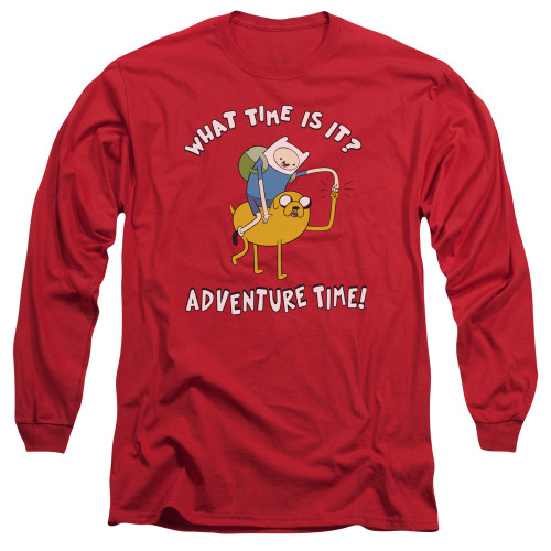 Image for Adventure Time Long Sleeve T-Shirt - Ride Bump