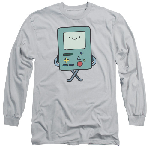 Image for Adventure Time Long Sleeve T-Shirt - BMO