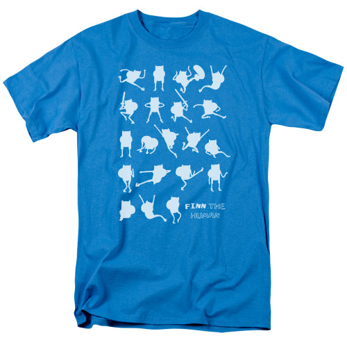 Image for Adventure Time T-Shirt - Finn the Human