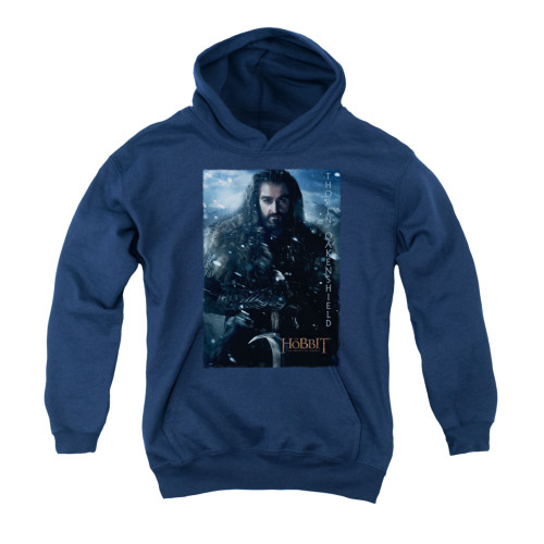 Image for The Hobbit Youth Hoodie - Thorin Poster