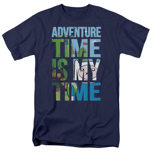 Image for Adventure Time T-Shirt - My Time