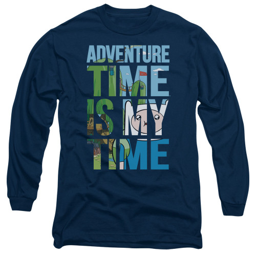 Image for Adventure Time Long Sleeve T-Shirt - My Time