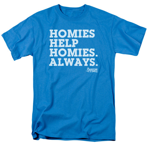 Image for Adventure Time T-Shirt - Homies Help Homies