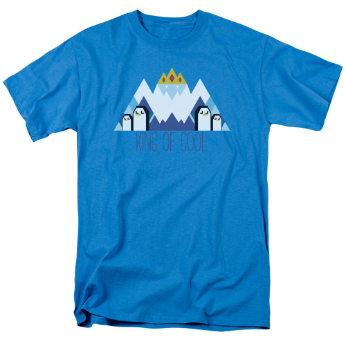 Image for Adventure Time T-Shirt - Ice King Geo