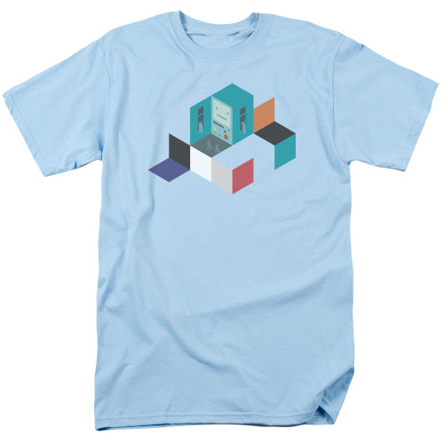 Image for Adventure Time T-Shirt - BMO Blocks