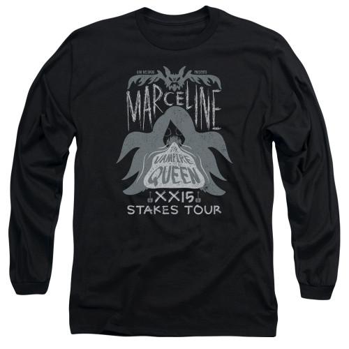 Image for Adventure Time Long Sleeve T-Shirt - Marceline Concert
