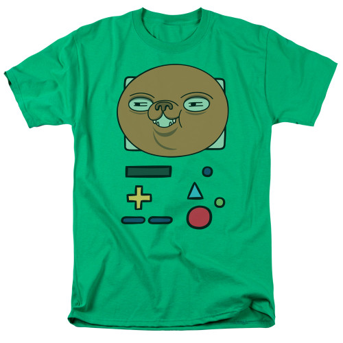 Image for Adventure Time T-Shirt - BMO Mask