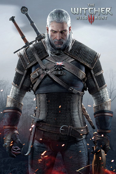 Image for The Witcher Poster - Wild Hunt