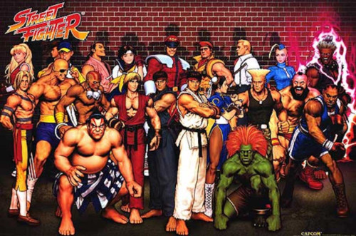 Image for Street Fighter Poster