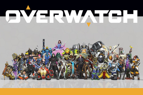 Image for Overwatch Poster - Group