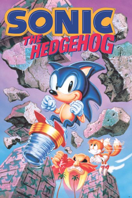 Image for Sonic the Hedgehog Poster - Break Through