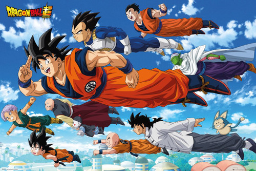 Image for Dragon Ball Z Poster - Flying
