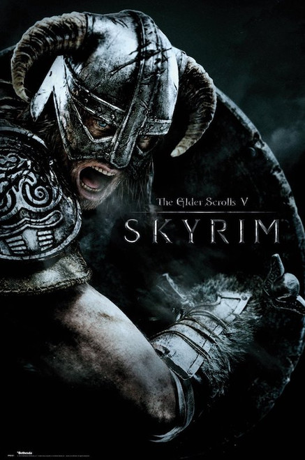 Image for Skyrim Poster - Attack