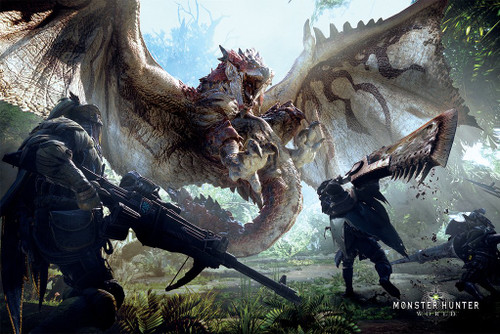 Image for Monster Hunter World Poster